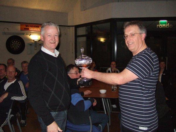 Arjan Visser winnaar internclubtoernooi januari 2013